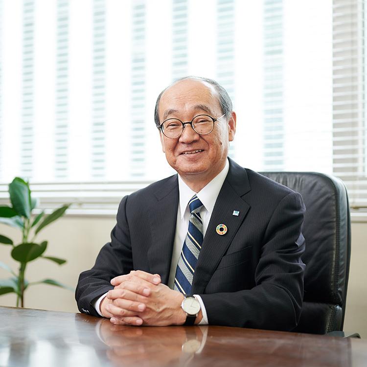 理事長 河嶋 敏郎