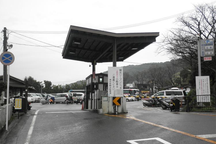 日本初の観光駐車場